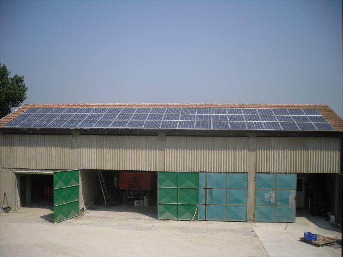 Imp.FV 11 kWp - Sant'alberto -RA