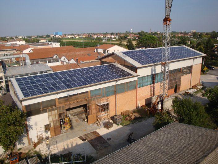 Imp.FV 36 kWp - Alfonsine -RA- Via Stroppata