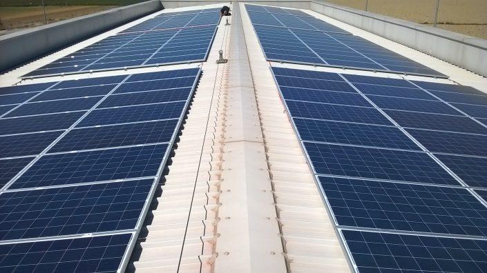 Impianto FV 50 kWp - Ravenna via dell'idrovora